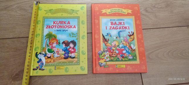 Książeczki w twardej okladce