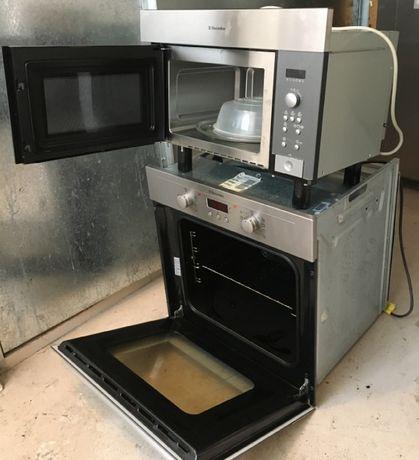 Electrolux Комплект духовой шкаф духовка + микроволновка Электролюкс