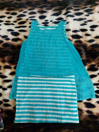 Майка-платье для девочек