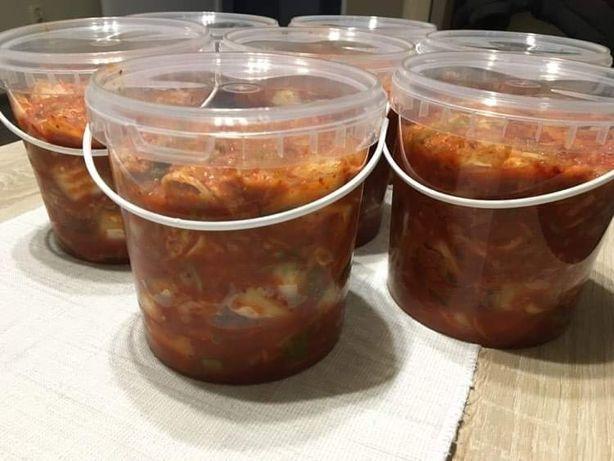 Koreańskie kimchi , kimczi pojemność  1200 ml