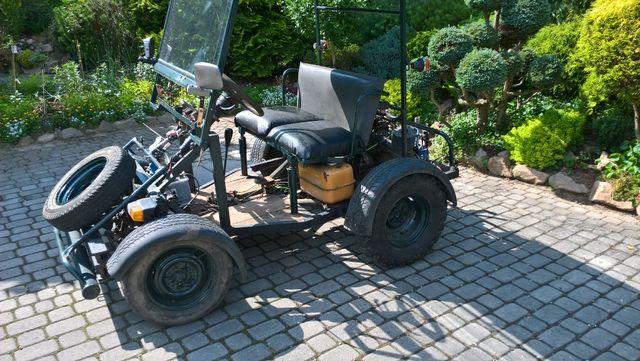 traktorek, quad, buggy