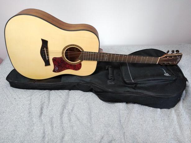 NOWA gitara akustyczna ArsNova AN-700 Piękna gitara i brzmienie etui !