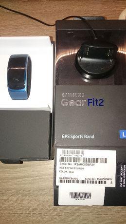 Samsung Gear Fit 2 L niebieski