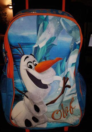 FROZEN plecak na kolkach nowy
