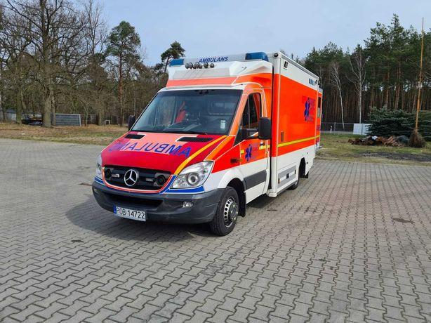 Mercedes-Benz Sprinter KARETKA AMBULANS (Zabudowa GSF)