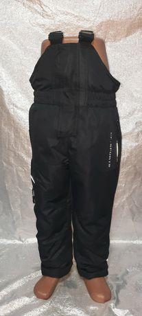 Новые тёплые штаны на лямках