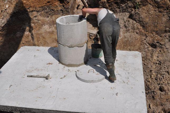 Zbiornik na gnojowicę gnojówkę szambo 10m3 szamba betonowe deszczówkę