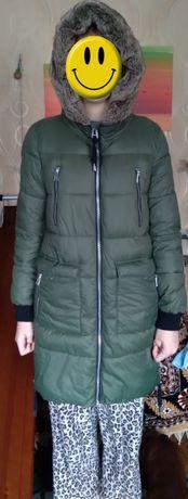 Куртка зимова м'ягка, легка