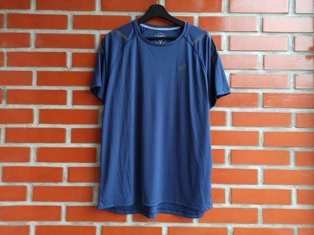 Asics синяя мужская футболка размер XL