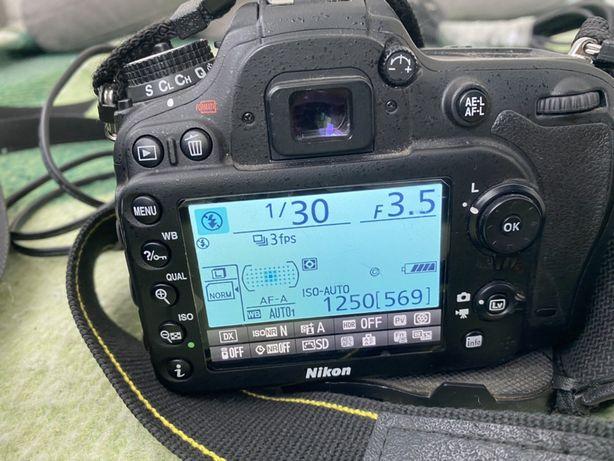 Nikon D7100, объектив 18-140, зарядка и сумка.
