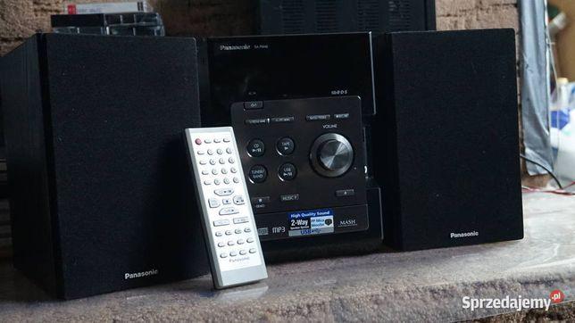 Mini wieża radio odtwarzacz Panasonic SA-PM46 mp3 USB okazja wysylka!