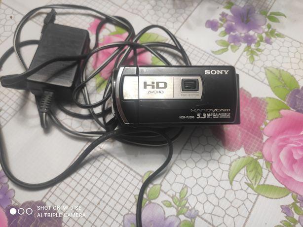 Продам відео камеру Sony HDR P j 200 E. Ціна 600 гр
