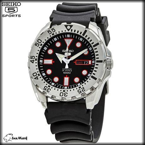 Seiko 5 Sports SRP601J1 Мужские часы Ø44мм Made in Japan механика с ав