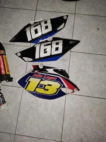 Varios plasticos motocross