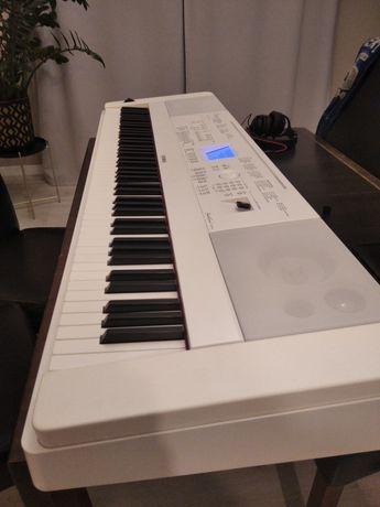Rez. do 10.06 Yamaha DGX 660 białe pianino cyfrowe, keyboard.