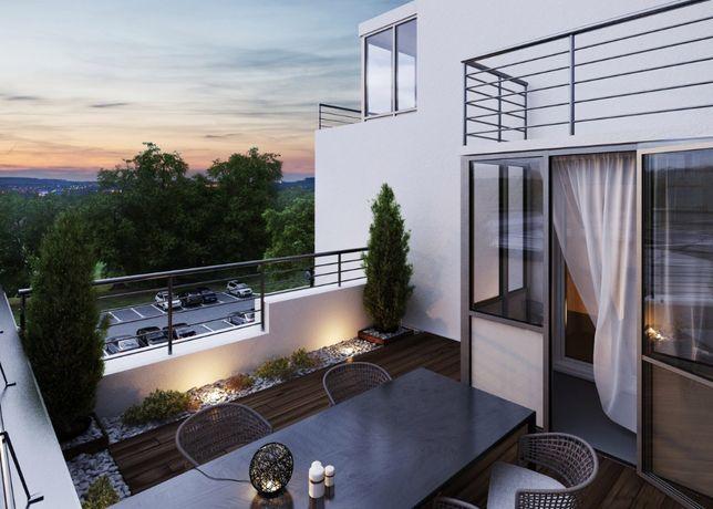 Эксклюзивная 2-х ком. квартира с террасой с видом на Ботанический сад