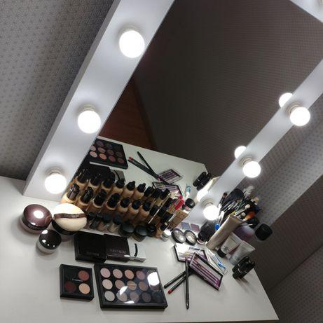 Lustro Hollywood do wizażu,do make up, do makijażu
