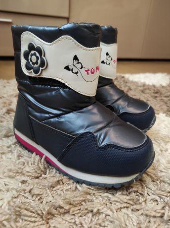Продам зимние ботинки дутики Том М