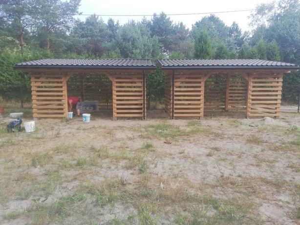 Konstrukcje drewniane domki letniskowe wiaty altana pergola montaż