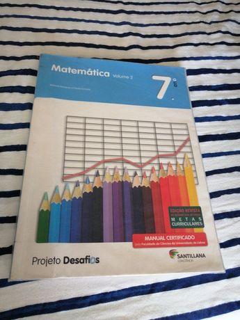 Manual de Matemática 7°Ano volume 2 + Caderno de atividades