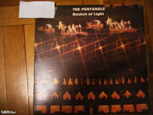 Płyta winylowa - THE PENTANGE Basket of Light