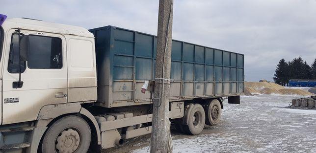 Кузов зерновоз бортовий