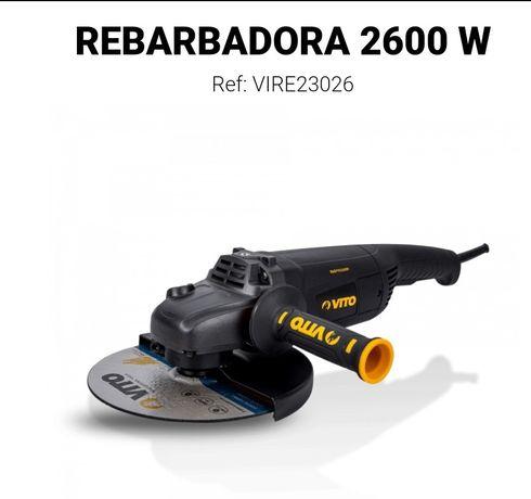 Rebarbadora Profissional Vito 2600 W 230mm