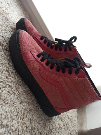 SK8 PLATFORM MTE - Sneakersy wysokie - jasnoróżowe