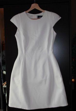 SIMPLE biała sukienka suknia ślub ślubna 34 XS 36 S chanel biel dior