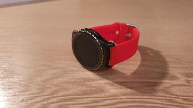 Pasek do zegarka - czerwony, 20 mm