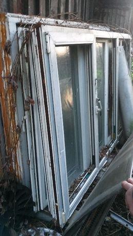 okna okno drewniane używane