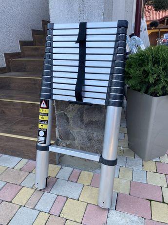 Драбина телескопічна, лестница Германия