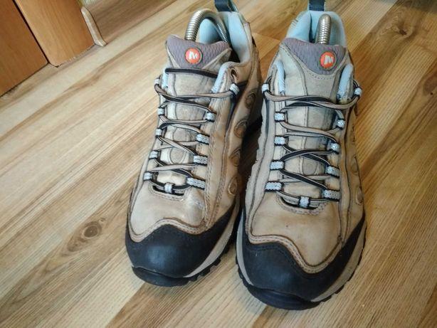Кроссовки ботинки трекинговые merrell original. размер 39