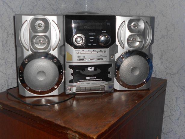 Продам музыкальный центр Kason KS-388DVD/G б/у
