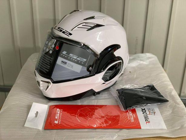 Kask motocyklowy LS2 FF900 VALIANT II M S L XL biały nowy fv wysyłka