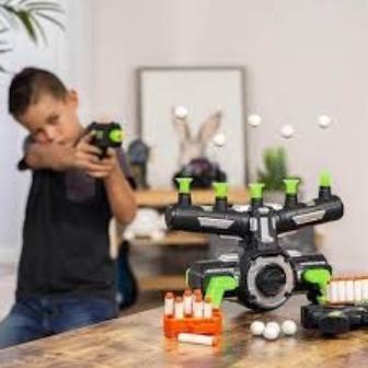 Воздушный тир,игрушка стрельба по летающим шарам Hover Shot