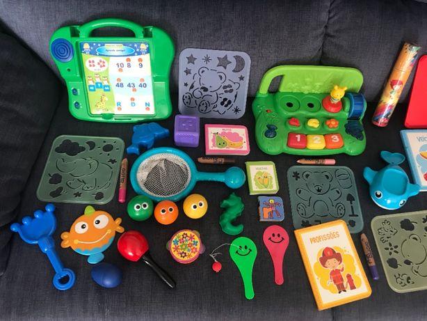 Brinquedos Jogos e Livros para Bebes e Crianças