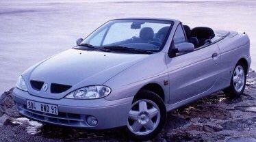 Peças Renault Megane cabrio / coupe 2.0 16v ide