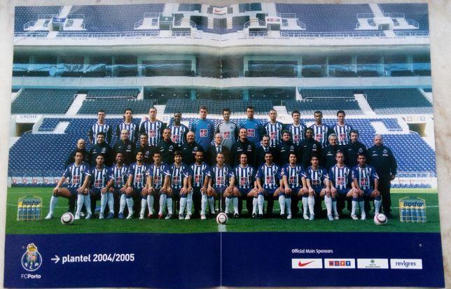 Poster do Futebol Clube do Porto - Plantel campeão do mundo 2004