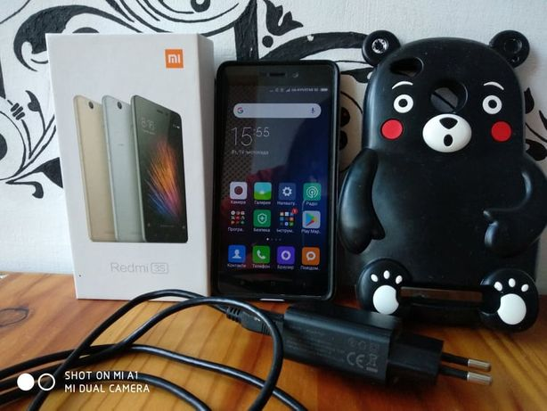 Чехол 3D на Xiaomi Redmi 3S, 3Х, 3Pro/Кумамон/Чохол на телефон Ксіомі