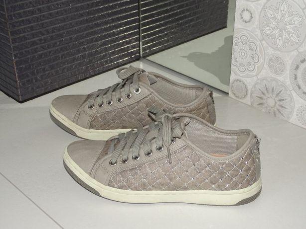 Trampki Geox Creamy r. 38 sneakersy pikowane / dżety