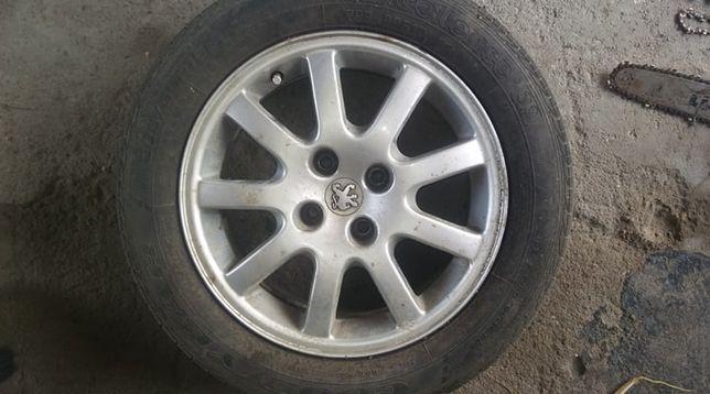 Peugeot 406 - Koło zapasowe - opona z alufelga