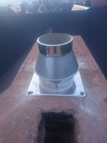 Frezowanie diamentowe kominów,montaż systemów kominowych SCHIEDELb