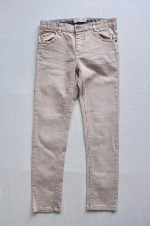 Reserved spodnie jeans rurki bdb rozm. 128