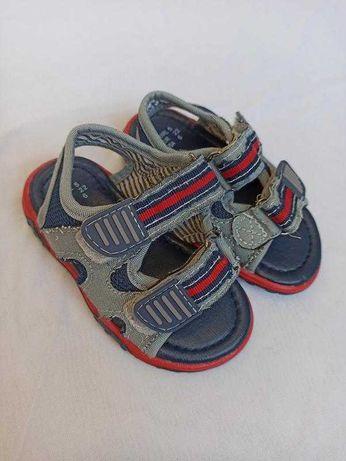 Фирменные босоножки сандали на мальчика 22 размер Rebel