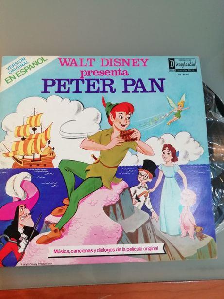 Walt Disney presenta Peter Pan Vinil Musica infantil