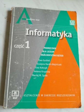 Informatyka podręcznik do liceum ogólnokształcącego cześć 1