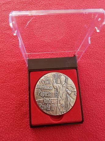 Medal Jan Paweł II Pamiątka Beatyfikacji Simoradz, Skoczów