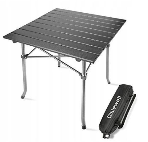 OUTLET - kompaktowy aluminiowy stół kempingowy składany przenośny