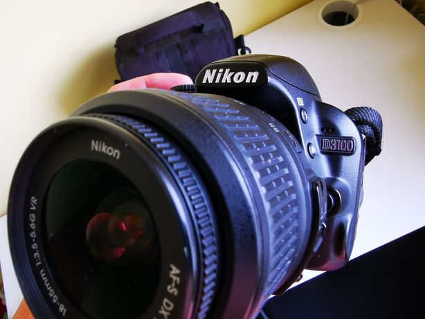 Nikon D3100 + Nikkor 18-105mm, stan idealny